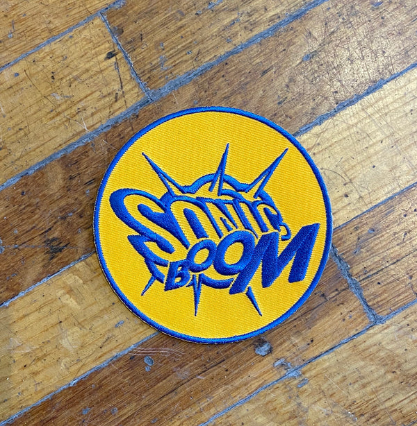 Sonic Boom Patch (Orange & Blue)