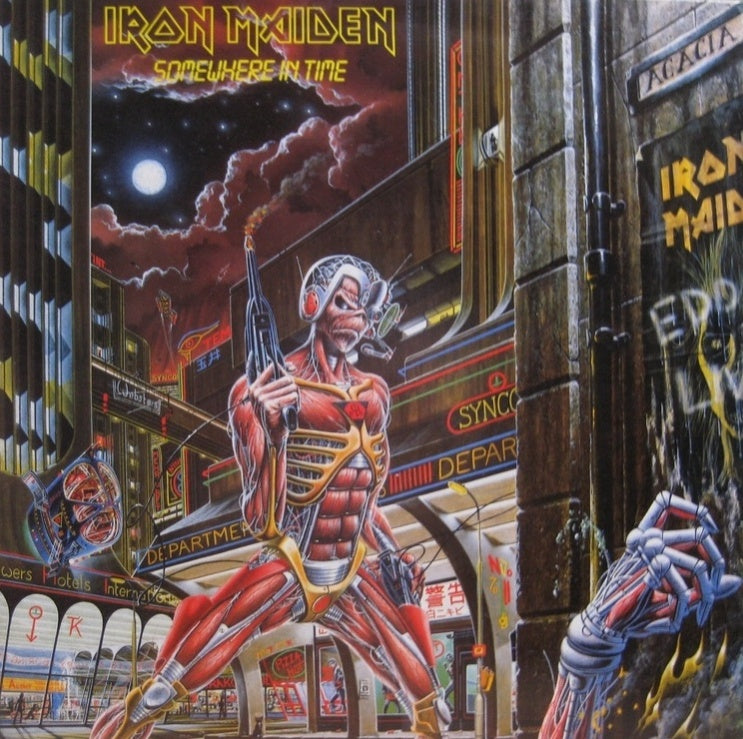 Iron Maiden - Somewhere In Time (New Vinyl)