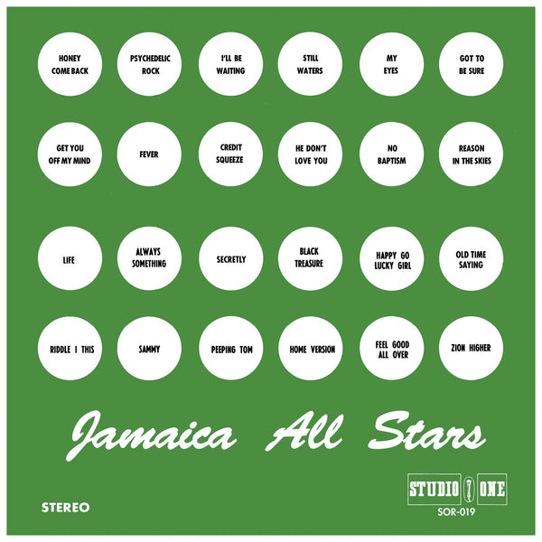 Various - Jamaica All Stars Vol. 1 & 2 (Vinyl)