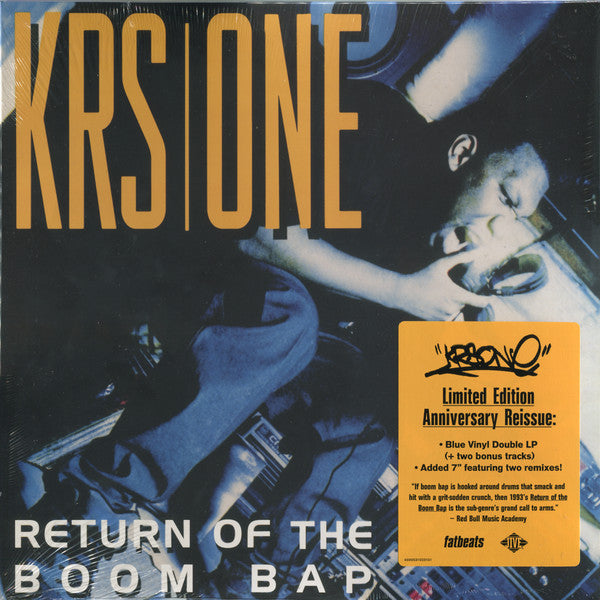KRS-One ‎– Return Of The Boom Bap (Vinyl)