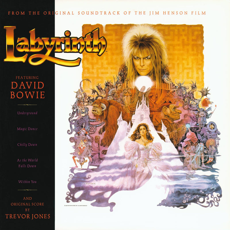 David Bowie, Trevor Jones - Labyrinth [Soundtrack] (New Vinyl)