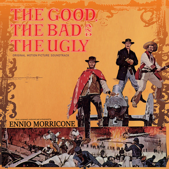 Ennio Morricone - The Good The Bad & The Ugly RSD (Red Vinyl)