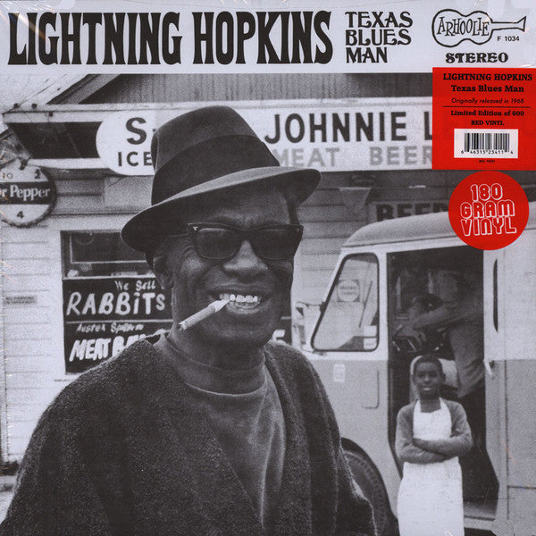 Lightning Hopkins - The Texas Bluesman (Vinyl)