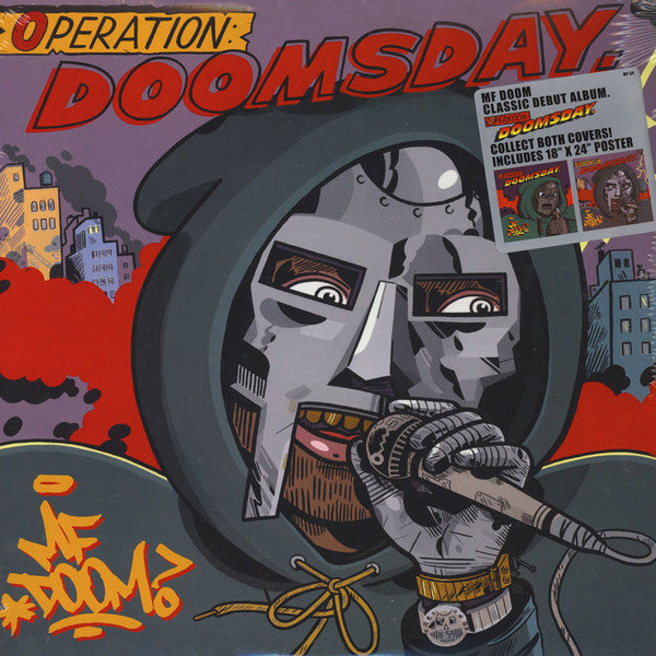 MF Doom - Operation: Doomsday [Metal Face Cover Edition] (New Vinyl)