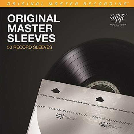 Mobile Fidelity Original Master Sleeves (50 Inner Record Sleeves)