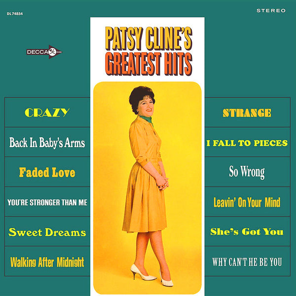 Patsy Cline - Patsy Cline's Greatest Hits (New Vinyl)