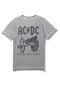 Ac/Dc For Those About Grey T Shirt