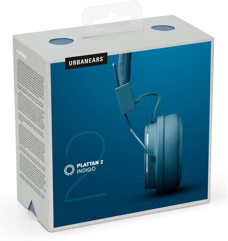 Plattan 2 On-Ear Headphones (Indigo)