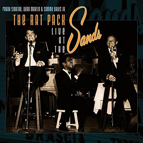 Frank Sinatra, Dean Martin & Sammy Davis Jr. ‎– The Rat Pack Live At The Sands (New Vinyl)
