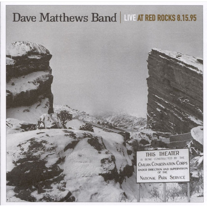 Used CD - Dame Matthews Band - Live at Red Rocks 8.15.95
