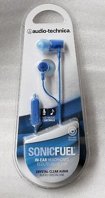 Audio-Technica - Sonic Fuel In-Ear Headphones (Blue)