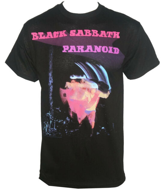 Black Sabbath - Paranoid Black Shirt