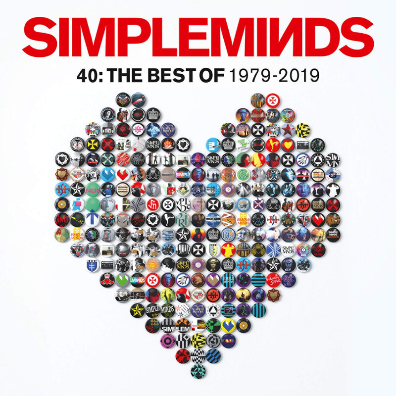 Simple Minds - 40: The Best Of 1979 -2019 (New Vinyl)