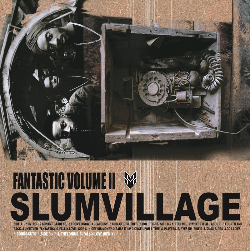 Slum Village - Fantastic Volume II (New Vinyl)