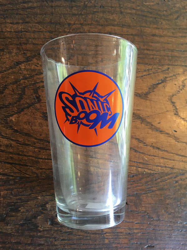 Sonic Boom Pint Glass