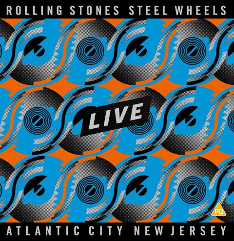 The Rolling Stones - Steel Wheels - Atlantic City, NJ (DVD + 2CD)