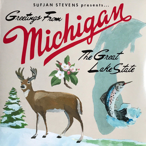 Sufjan Stevens - Greetings From Michigan: The Great Lake State (New Vinyl)