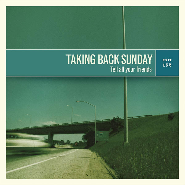 Taking Back Sunday ‎– Tell All Your Friends (Vinyl)