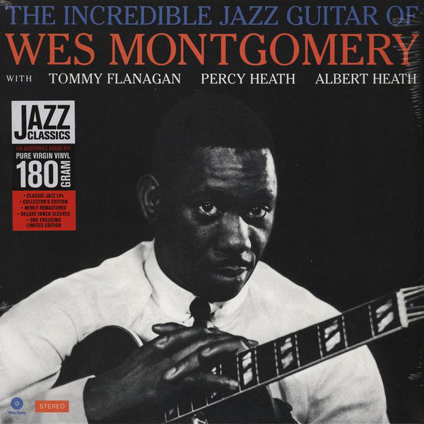 Wes Montgomery - The Incredible Jazz Guitar Of Wes Montgomery (Vinyl)