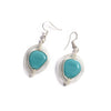 Glass Beads Earrings - Sky Blue