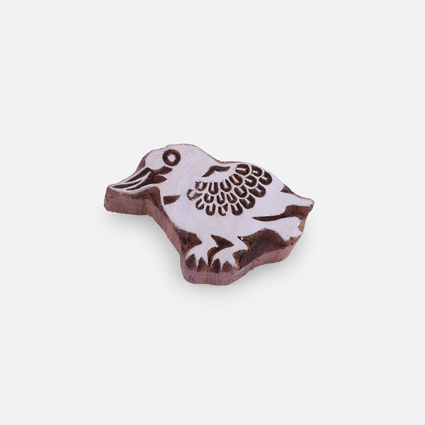 Platypus Wooden Block Stamp