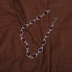 Glass Beads Neckpiece - Red