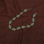 Handcrafted Glass Beads Neckpiece - Green
