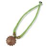 Handcrafted Dokra Neckpiece - Light Green
