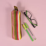 Handcrafted Pencil Pouch - Multicolor