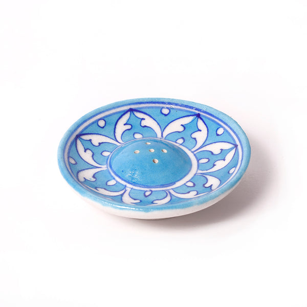 Ceramic Incense Holder - Sky Blue