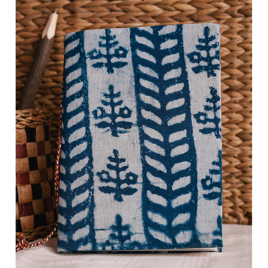 Handmade Notebook - Indigo