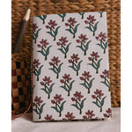 Handmade Notebook - Flower Print