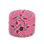 Kanta Work Handcrafted Bangle Box - Pink