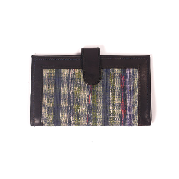Handcrafted Khesh Fabric Wallets - Black