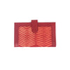 Handcrafted Kanta Work Wallets - Red