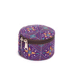 Kanta Work Jewelry Box - Violet