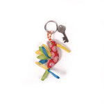 Recycled Fabric Keychain - Humming Bird