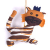 Recycled Fabric Toy - Tiger Wall Hanging