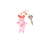 Recycled Fabric Keychain - Doll