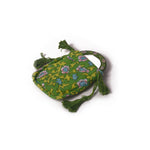 Gypsy Pouch with Mirror - Green
