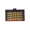 Handcrafted Quilted Wallets - Gamcha Black Checks