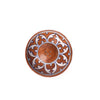 Ceramic Incense Holder - Brown