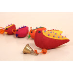 Recycled Fabric Toy - Small Birds Hanging