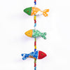 Recycled Fabric Toy -  Fish Wall Hanging