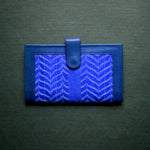 Handcrafted Kanta Wallet - Blue