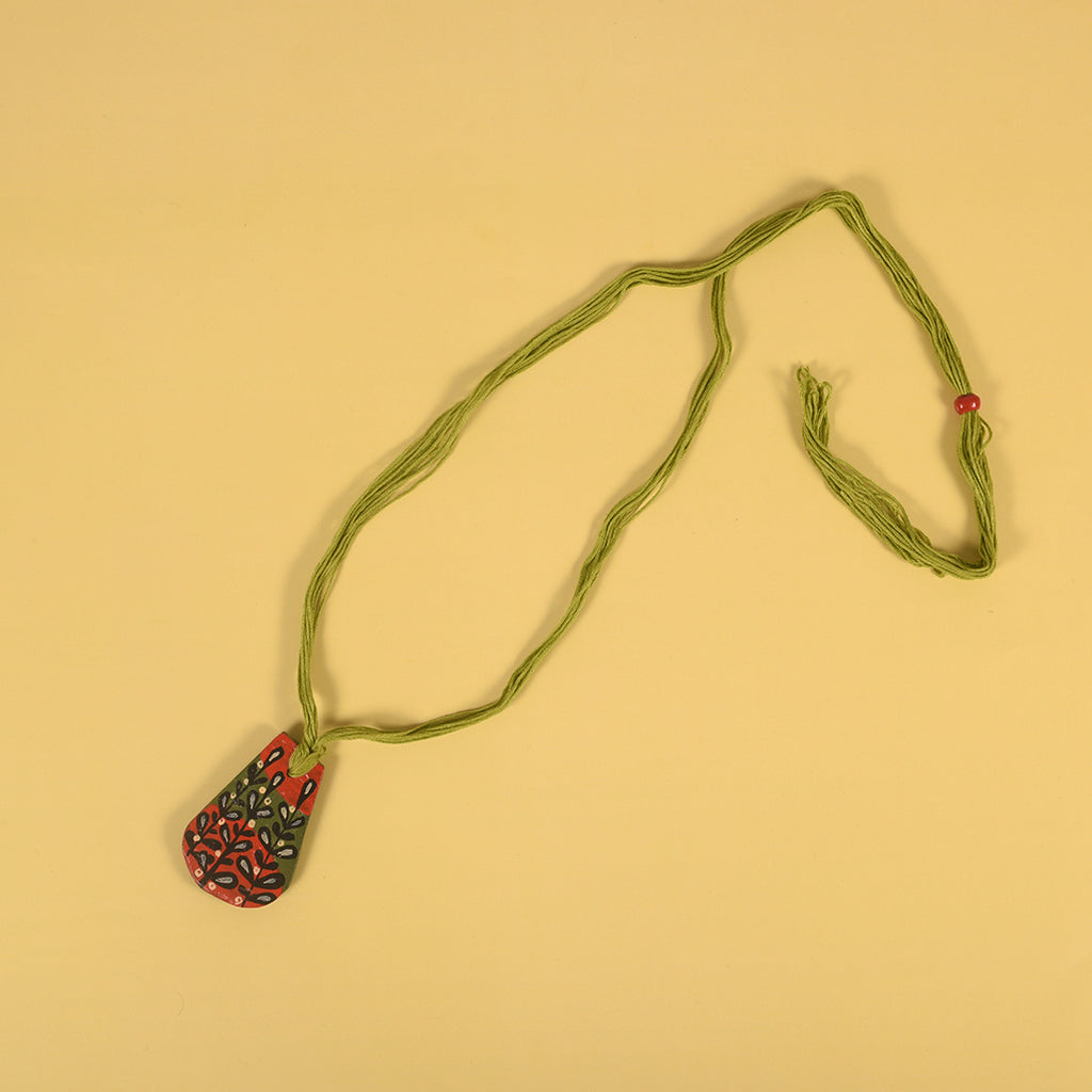 Handpainted Clay Neckpiece