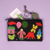 Handcrafted Applique Work Pouch