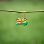 Hand painted Clay Earrings - Dreams