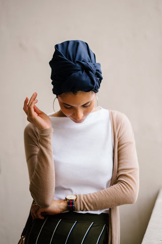 turban cheveux origine