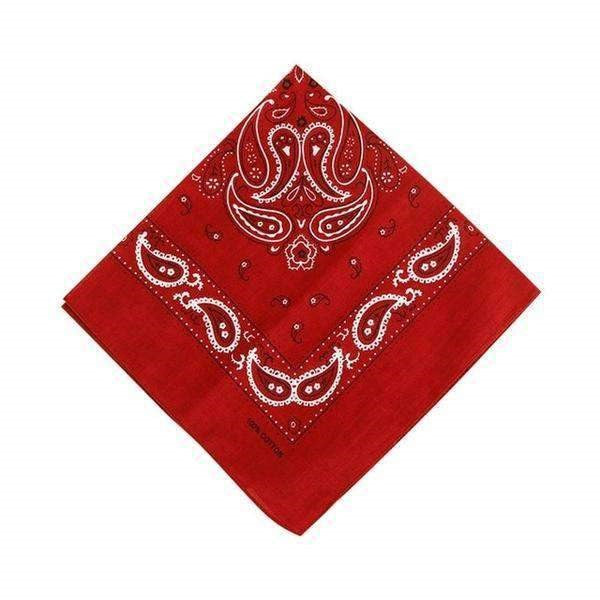Bandana rouge bordeaux
